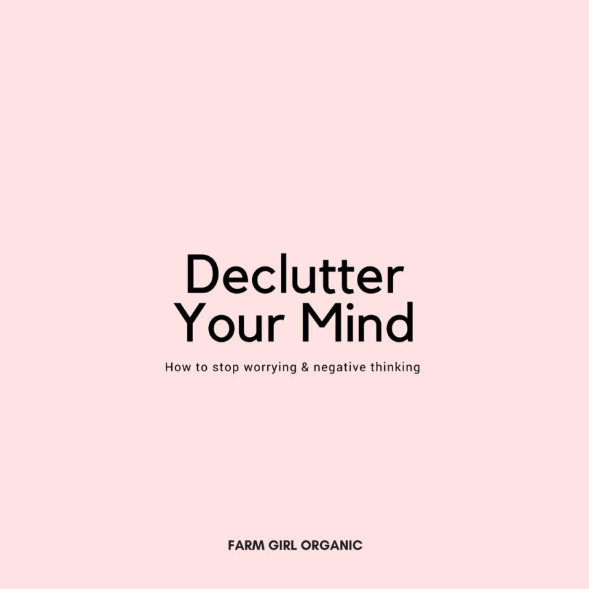 FG- Declutter Your Mind