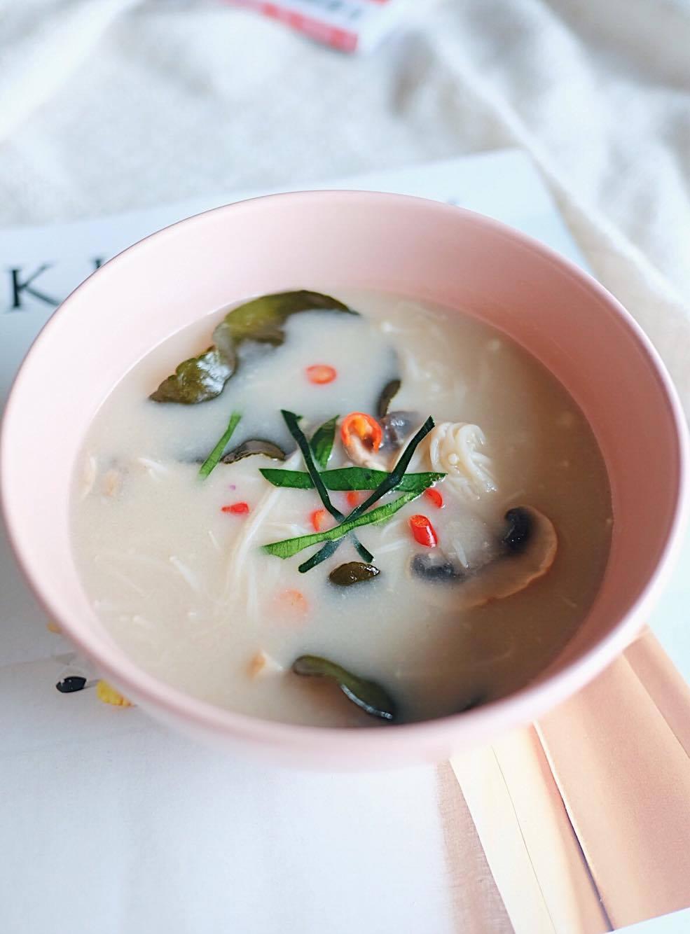 Thai Mushroom Coconut Soup - Farm Girl - 2